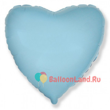 Шар-сердце 'Голубой'