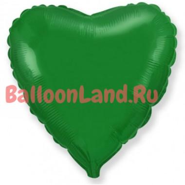 Шар-сердце 'Зеленое'