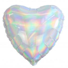Шар-сердце Перламутровый