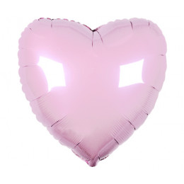 Шар-сердце Нежно-розовый