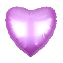 Шар-сердце Лиловый