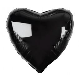 Шар-сердце Черный