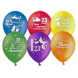 Воздушные шары 23 февраля №2