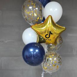 Букет воздушных шариков ТикТок
