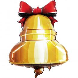 Фигурный шар Золотой Колокольчик