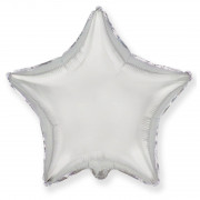Шар-звезда Серебряная (45см)
