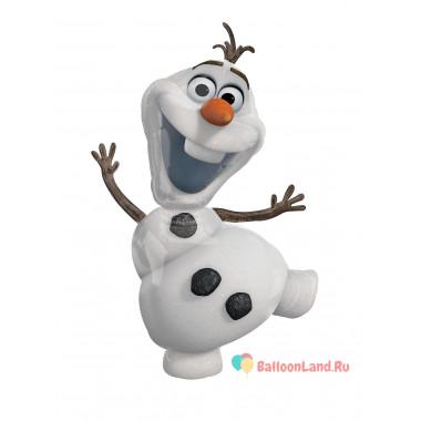 Фигурный шар Снеговичок Олаф