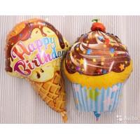 Набор шариков с гелием Мороженное с тортом
