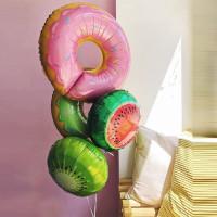 Букет из шариков Пончики с киви и арбузом