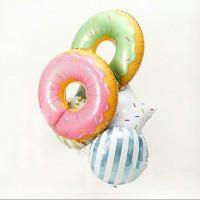 Букет воздушных шариков Пончики