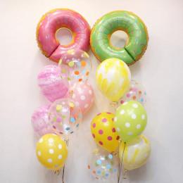 Сет из шариков из двух фонтанов с Пончиками