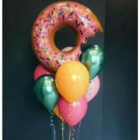 Сет из шариков Розовый пончик
