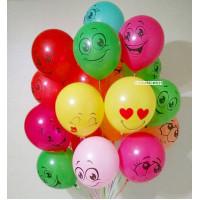 Букет из шариков Эмоции и Улыбки