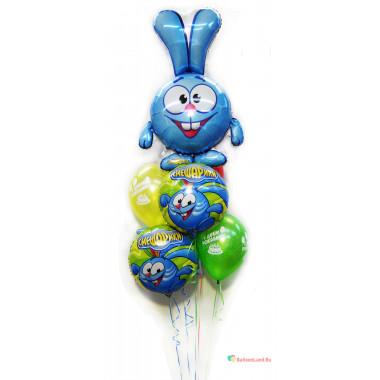 Букет шаров на День Рождения с Крошем