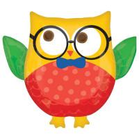 Фигурный шар Филин с очками