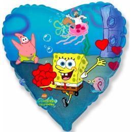 Шар-сердце Спанч Боб и его друзья