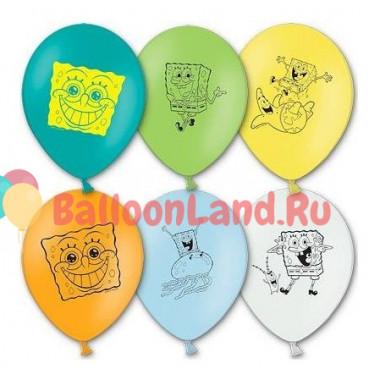 Воздушные шары Спанч Боб