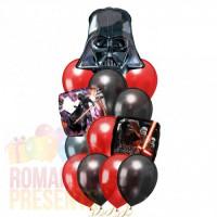 Букет из шариков Звездные войны с Дартом Вейдером