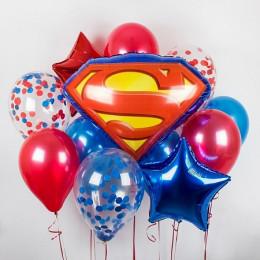 Букет шаров Супермен