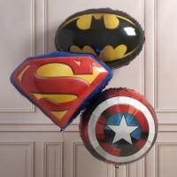 Сет шаров супергерои
