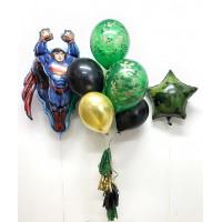 Набор шаров Супермен в цветах хакки