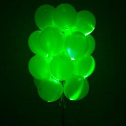 Светящийся шар зелёного цвета