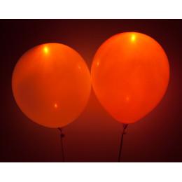 Светящийся шарик оранжевого цвета