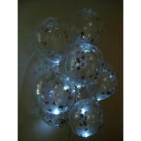 Светящийся шарик с конфетти