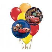 Набор шариков с героями мультфильма Тачки