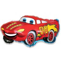 Фигурный шар красная Машинка