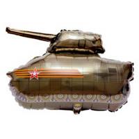 Фигурный шар Военный Танк