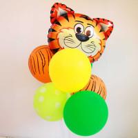 Букет шаров Тигрёнок