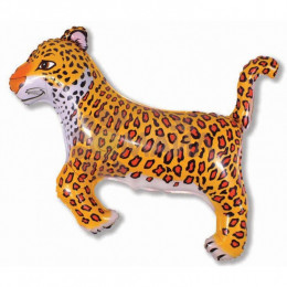 Фигурный шар Скачущий Леопард