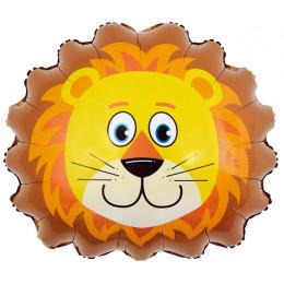 Фигурный шар Львёнок (голова)