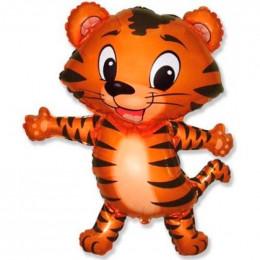 Фигурный шар Танцующий тигрёнок