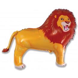 Фигурный шар Рычащий Лев
