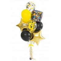 Букет шаров Трансформеры на День Рождения