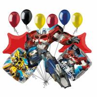 Набор шариков Оптимус Прайм Трансформеры с Днем Рождения
