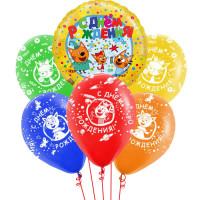 Букет из шариков на день рождения Три кота (С днём рождения)
