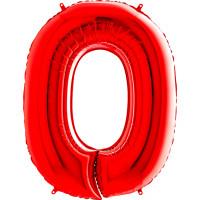 Шар-цифра Красный 0