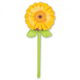 Фигурный шар Желтая георгина