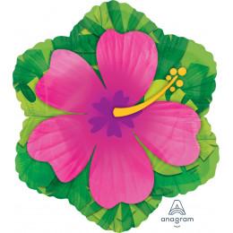 Фигурный шар Розовый Гибискус