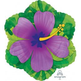 Фигурный шар Фиолетовый Гибискус