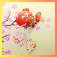 Букет из шаров с гелием с персонажами м/ф В поисках Немо