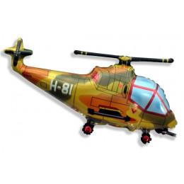 Фигурный шар Вертолёт милитари