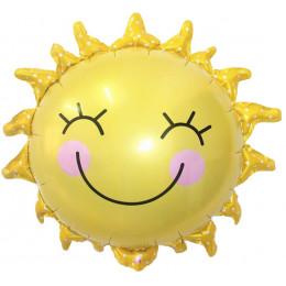 Фигурный шар Улыбающееся солнце