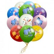 Воздушные шары из латекса Винни Пух