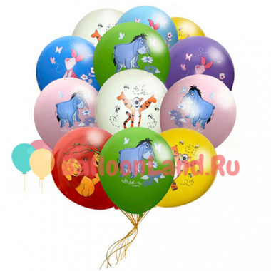 Воздушные шары 'Винни Пух'