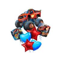 Набор шаров со Вспышем - героем мультфильма, звездами и сердцами
