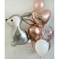 Сет из воздушных шариков Зайчонок